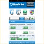 Nordicbet iPhone