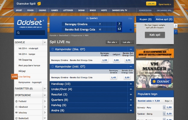 Danske spil live betting rules how to create scrypt based bitcoins news