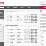 Tipico byder på en meget spartansk hjemmeside