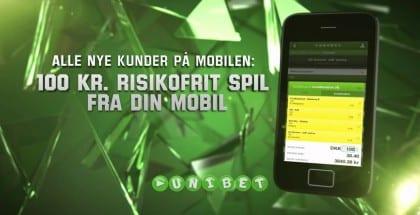Unibet mobil