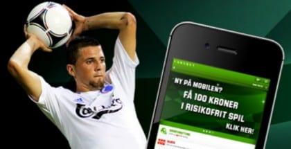 Få risikofrit mobilspil hos Unibet