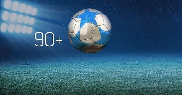 Få overtidsforsikring på Premier League og Champions League