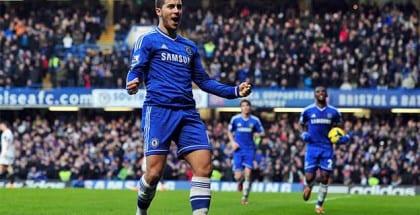Topkamp på Stamford Bridge mellem Chelsea og Manchester City
