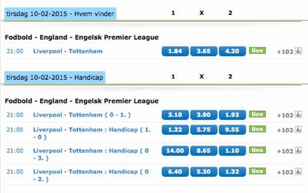 Få cashback på Liverpool-Tottenham hvis Harry Kane scorer
