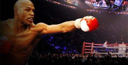 Vind tur til århundredets boksekamp i Las Vegas