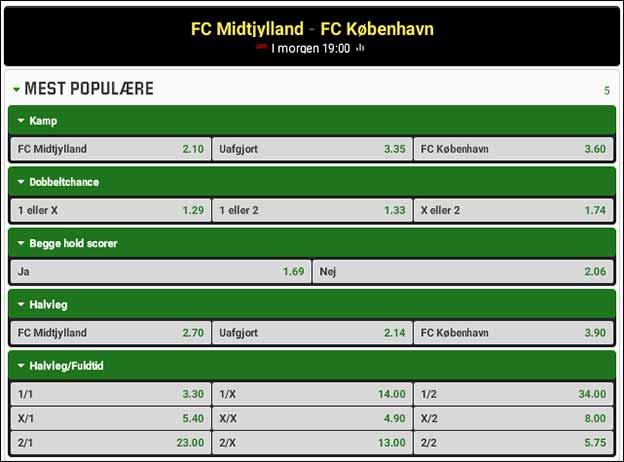 FC Midtjylland - FC København - spiltips fra Brian Laudrup