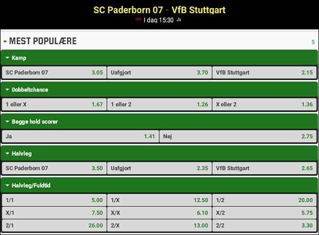 Paderborn-Stuttgart - tips til Bundesligaen fra Brian Laudrup