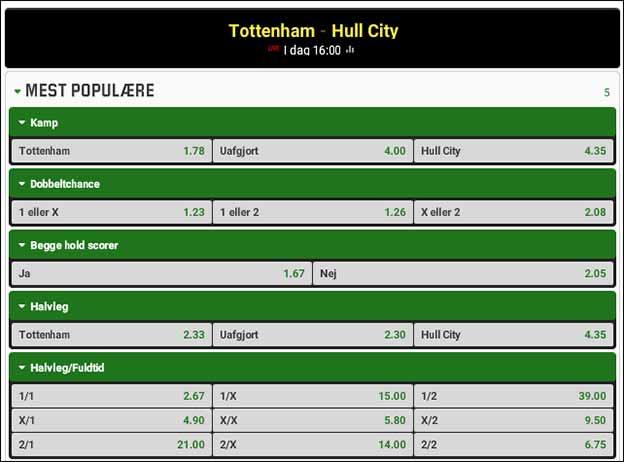 Tottenham-Hull - spiltips fra Brian Laudrup