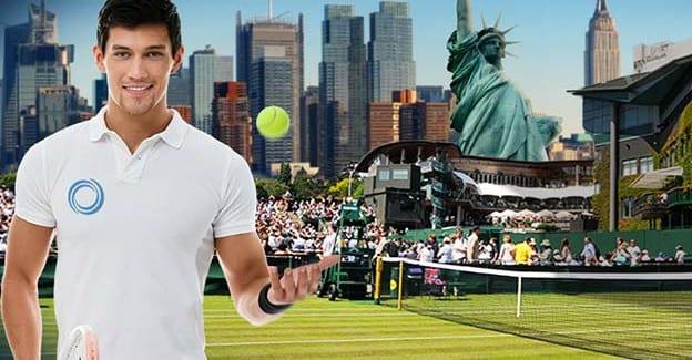 Vind tur til US Open i tennis ved at spille på Wimbledon