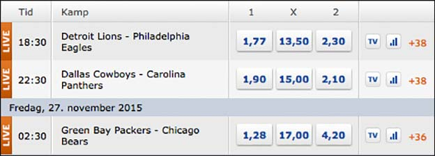 Claus elming nfl tips betting what channel are the bet awards on tonight