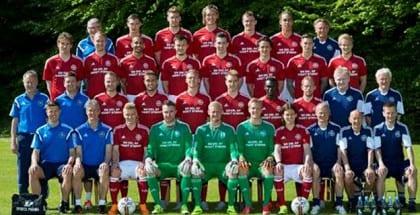 Spil på Danmarks startopstilling imod Sverige i EM-kvalifikationskampen