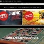 Guts.com tilbyder et bredt udvalg af tilbud og promotions