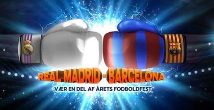Få odds 6 på Real Madrid eller Barca i El Clásico