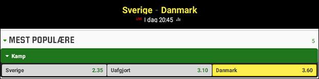 Unibet giver dig et risikofrit spil på Danmark - uden gennemspilskrav