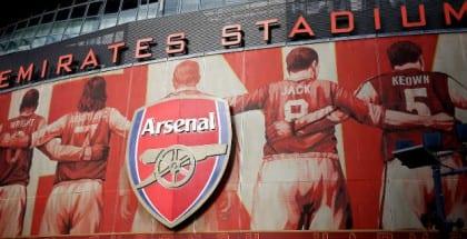 250 kr. risikofrit livespil på mandagen topbrag på Emirates Stadium