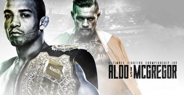 Se braget i UFC mellem Conor McGrecor og Jose Aldo ganske gratis hos Unibet