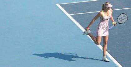 Se Sharapova og alle de andre med gratis Australian Open livestreaming hos spiludbyderne