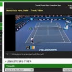 Gratis Australian Open livestreaming hos spiludbyderne