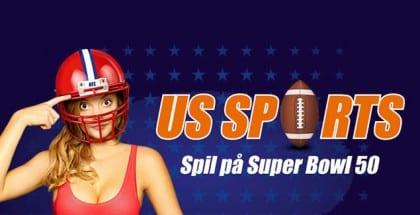 Spil på Super Bowl 50 og vind NFL-tur til London