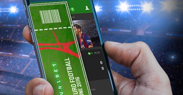 spil på mobilen