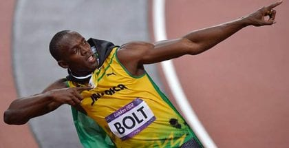 Få boostede odds på Usain Bolt til OL i Rio 2016