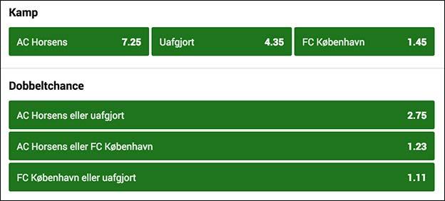 Vind billetter til FCK-Brügge ved at spille på Horsens-FC København