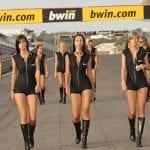 Intet MotoGP uden Bwin grid girls