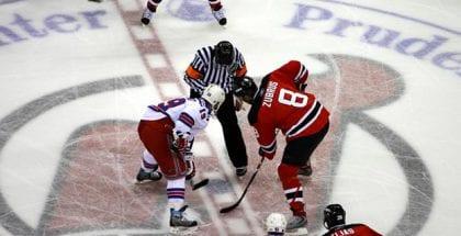 Odds på NHL hos spiludbyderen Unibet