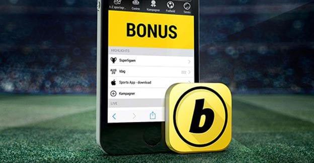 Prøv den nye app og få cashback hos Bwin
