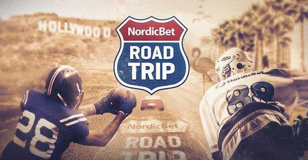 Vind en road trip i USA ved at spille på NFL, NBA og NHL