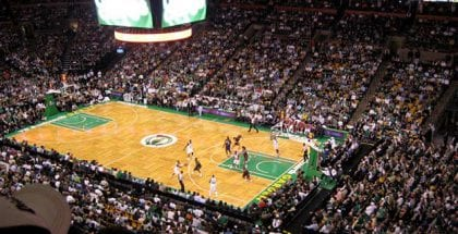 Optjen freebets ved at spille på Boston Celtics