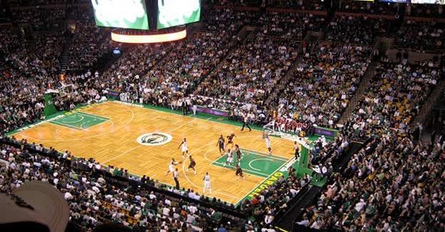 Optjen freebets ved at spille på Boston Celtics