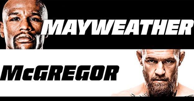 Se alle tilbud fra spiludbyderne på Mayweather-McGregor her