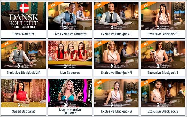 Spil live casino hos NordicBet Casino
