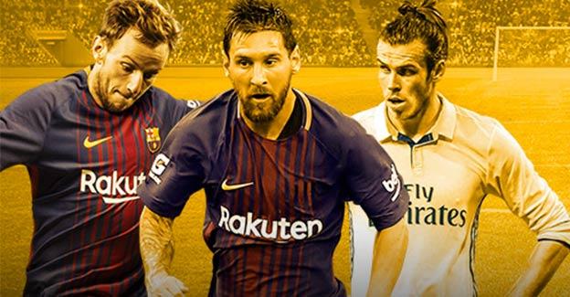 Optjen et gratis spil for 100 kr. på Real Madrid-Barcelona