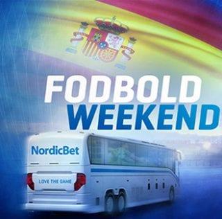 Vind fantastisk fodboldweekend med bl.a. spansk La Liga-fodbold