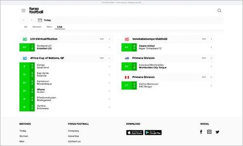 Forza leverer et fremragende produkt - både på mobil og desktop