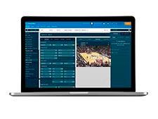 Live stream NBA hos spiludbyderen NordicBet